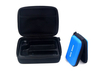 EVA Hard Carrying Case Nylon 1680D With Plastic Black Plating Zipper , Eco Friendly
